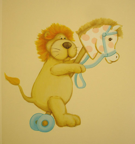 teddybears wall painting